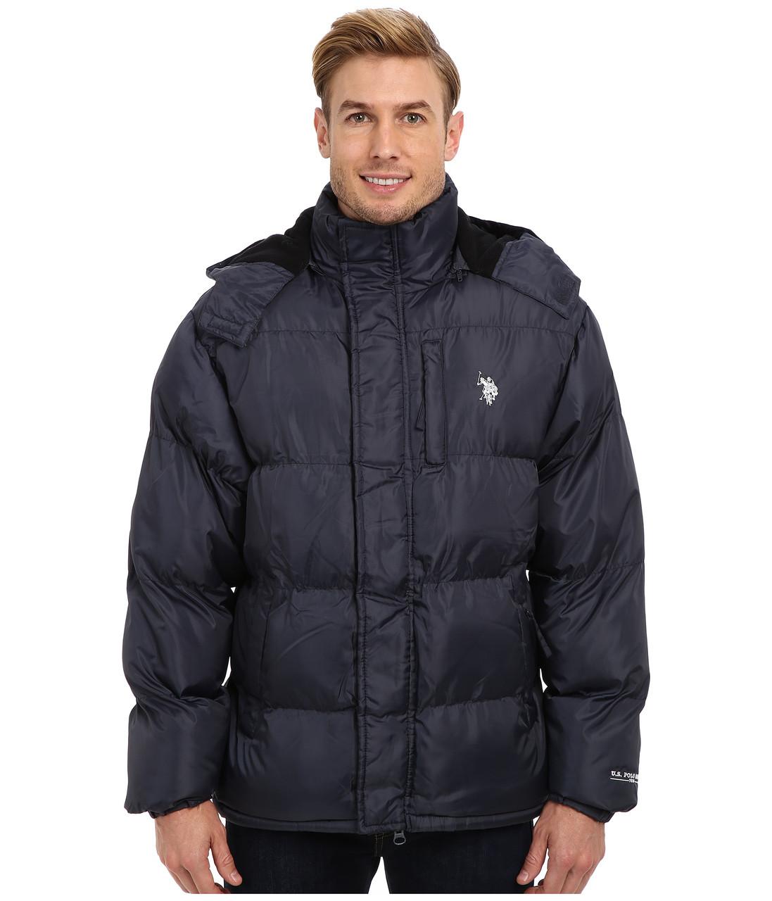 Куртка U.S. Polo Assn., XL, Classic Navy, 105256Q8-CLNV