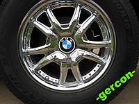 Лого стикер BMW на диск ступицу