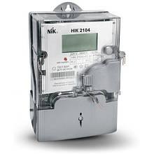 Лічильник однофазний NIK 2104-02.40 РТМВ (5-60А,+PLC+реле+датчик магн. поля)