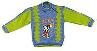 Цветной свитер для мальчика. 86 р.
