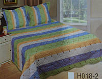 Двуспальное покрывало стеганое  с наволочками  240Х260