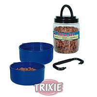 Trixie TX-2491 контейнер для корма 650ml +2 миски
