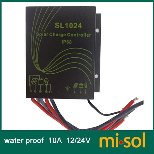 Водонепроницаемый контролер заряда ALTEK ASL1024 с пультом ДУ  - ЕЛЕКТРО в Львове