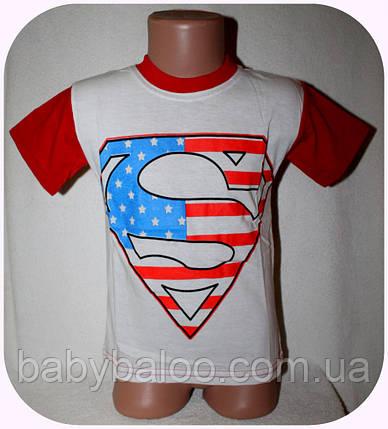 Комбинированная футболка для мальчика (от 3 до 7 лет), фото 2