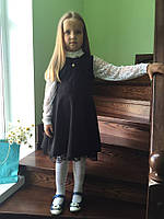 Школьный сарафан для маленьких принцесс. Разные цвета. ШС-01