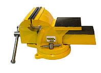 Тиски 150 мм, поворотные, Mastertool 07-0215