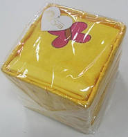 Набор полотенец 40х60 - 4шт. Arya Butterfly желтый