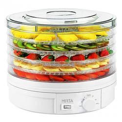 Сушарка для овочів і фруктів Mirta DH-3846