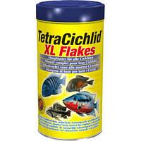 Tetra CICHLID XL 1L - большие хлопья для цихлид