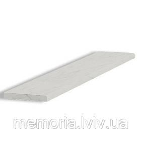 Сходинка натуральний мармур Polaris 1200*350*30 (біло-сіра)