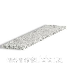 Сходинка натуральний граніт Light Grey 1200*350*30 (світло-сіра)