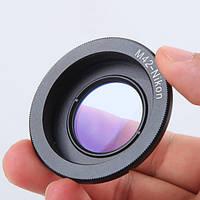 Адаптер М42-Nikon с линзой бесконечности, фото 1