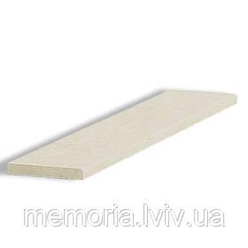 Сходинка натуральный мармур Crema Marfil Alba (L x h) 30мм