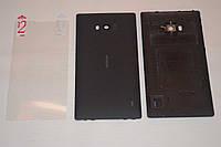 Задняя черная крышка для Nokia Lumia 930 + ПЛЕНКА В ПОДАРОК