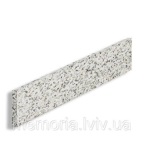 Підсходинка натуральний граніт Light Grey 1200*120*20 (світло-сіра)