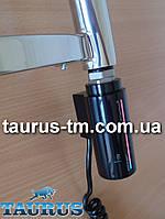 """Чёрный электроТЭН Instal Projekt HOT 2 с сенсорным управлением + таймер 8 ч. + LED-подсветка. Польша. 1/2"""""""