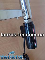 """Чорний електротена Instal Projekt HOT 2 з сенсорним управлінням + таймер 8 ч. + LED-підсвічування. Польща. 1/2"""""""