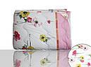 Одеяло силиконовое двуспальное (розовое)