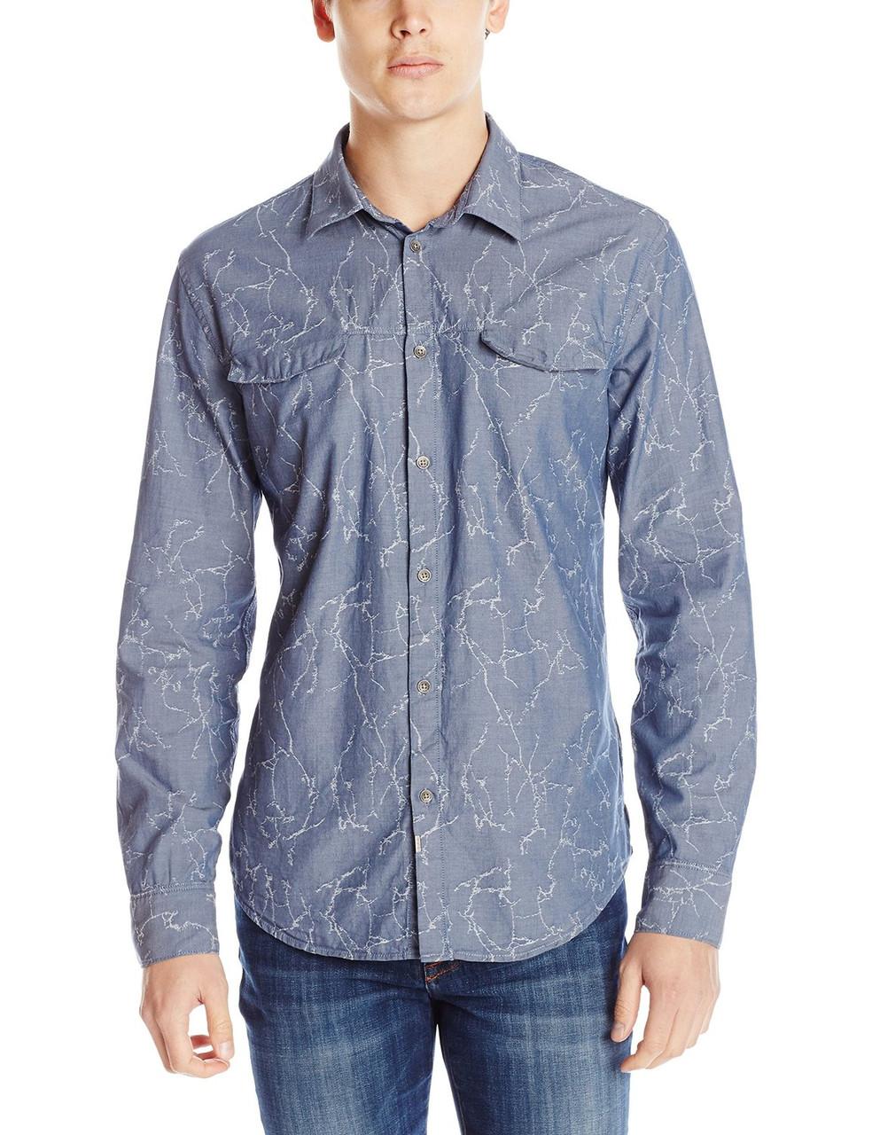 Рубашка Calvin Klein Jeans, XL, Washed Hazed, 41MW133-422