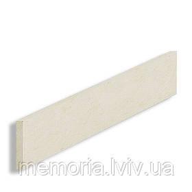 Підсходинка натуральный мармур Crema Marfil Alba (L x h) 20 мм