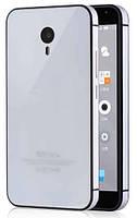 Чехол бампер зеркальный каленое стекло для Meizu M3 Note