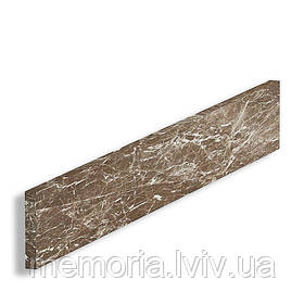 Підсходинка натуральный мармур Emperador Dark (L x h) 20 мм