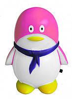 """Светильник ночной FERON FN1001 """"пингвин"""" 3LED 0.3W розовый"""
