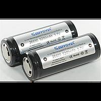 Аккумулятор литий-ионный keeppower 26650, 5200мАh 3.7v li-on для фонарей (kp26650/ 5200)