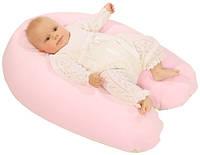 Подушка для беременных и кормления (в ассортименте, велюровая наволочка, холлофайбер), Womar