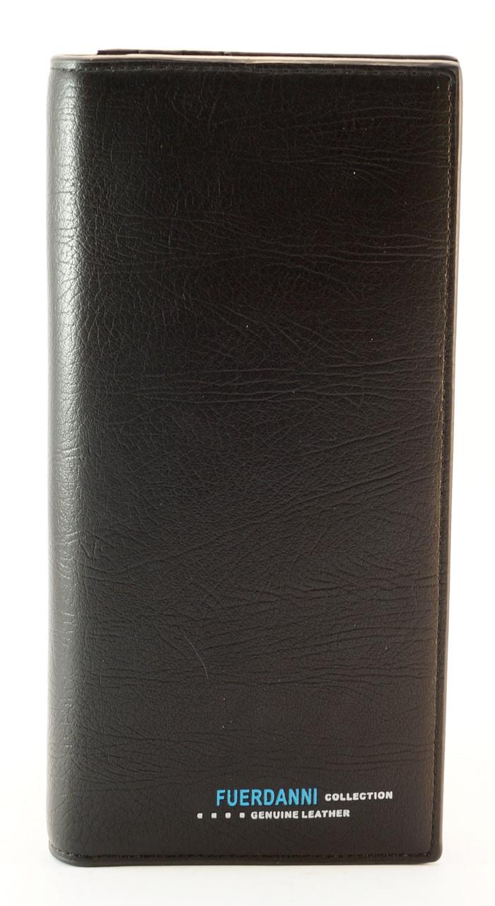 Недорогой удобный горизонтальный мужской кошелек Fuerdanni art. 9345