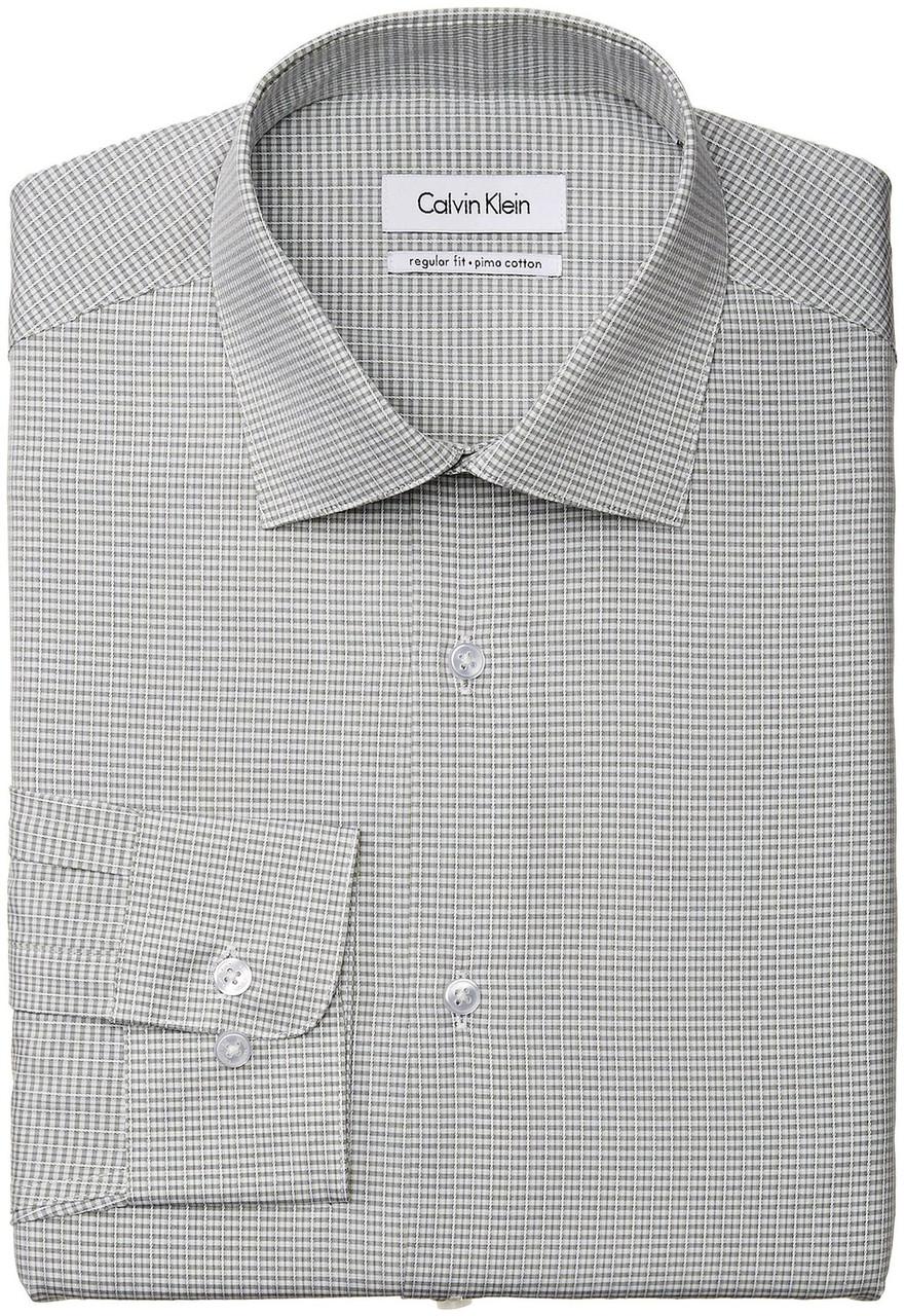 Рубашка Calvin Klein, N 15.5 S 34/35, Basil, 33K2803325