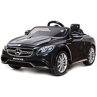 Детский электромобиль Mercedes S63 - M 2797 EBRS-2: 2.4G, EVA, 8 км/ч - BLACK PAINT- купить оптом, фото 1