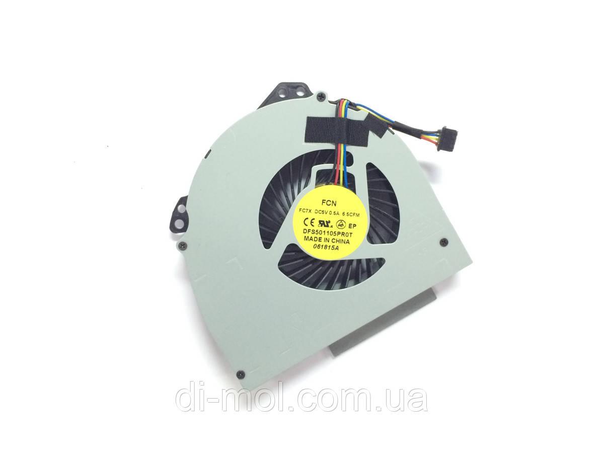 Вентилятор для ноутбука Dell Latitude E6540 series, 4-pin, интегрированное видео