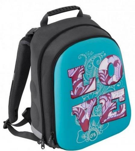 """Престижный школьный каркасный рюкзак для девочки 20 л, разноцвет CFS EVA фасад 15"""", """"Love"""" 730 CF85464"""
