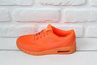 Женские кроссовки Nike Air Max (Orange)