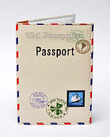 "Обложка на загранпаспорт ""Принт конверт"""