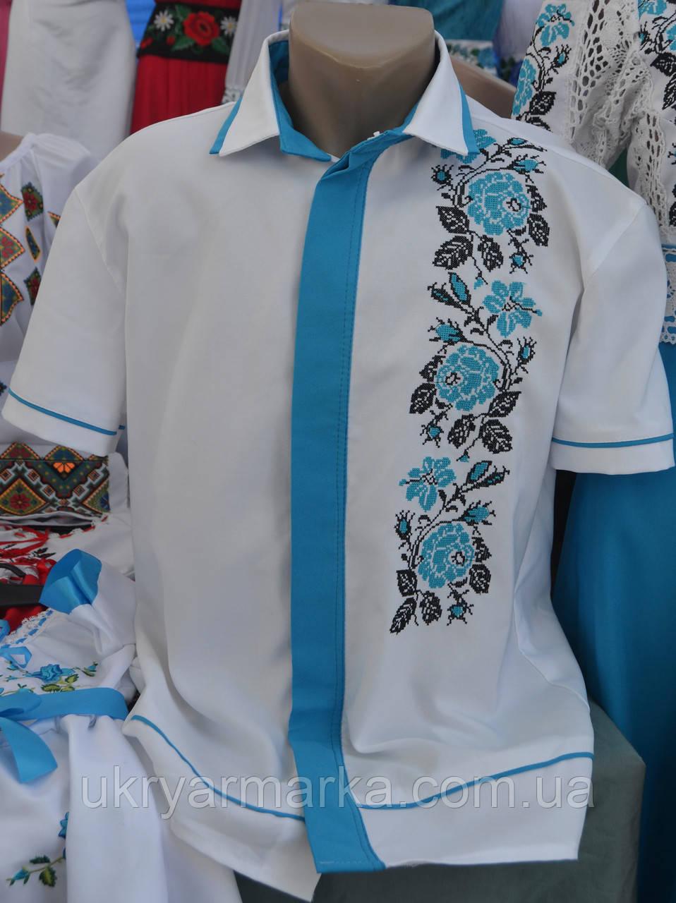 """Сорочка """"Тарас"""" 52 р"""