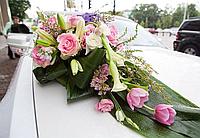 Оформление живыми цветами автомобиля, фото 1