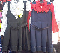 Школьный сарафан для девочек ,рост 122 см-152 см опт и розница S937
