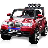 Детский электромобиль BMW M 3118 EBRS-3: 2 места, 4x4, EVA, 2.4G, 8 км/ч - БОРДО
