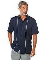 Рубашка Cubavera, S, Dress Blues, CUWS5038DS