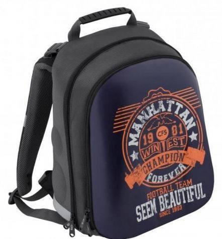 """Правильный рюкзак для школьника 20 л, ортопед CFS EVA фасад 15"""", """"Manhattan"""" 730 CF85461 синий"""