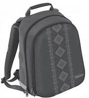 """Классический школьный рюкзак с орнаментом черного цвета CFS EVA фасад 15"""", """"Vyshyvanka"""" 730 CF85463"""