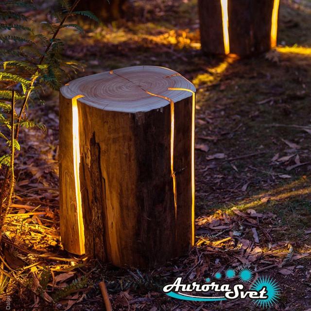 декоративные светильники для сада