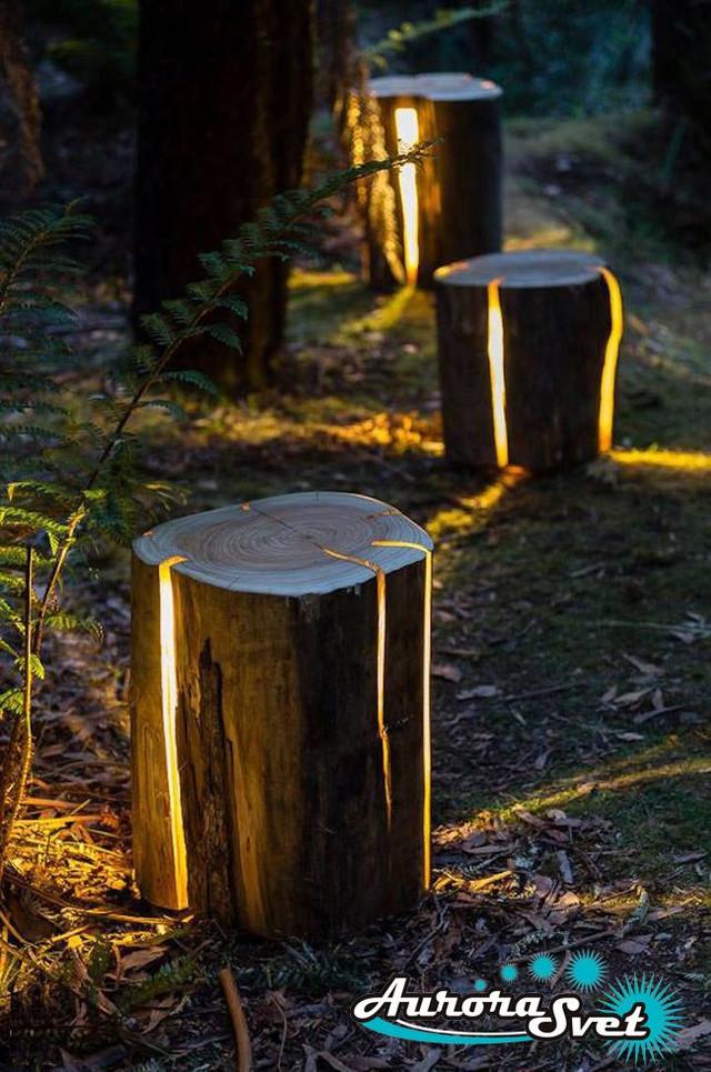 декоративные светильники для дачи