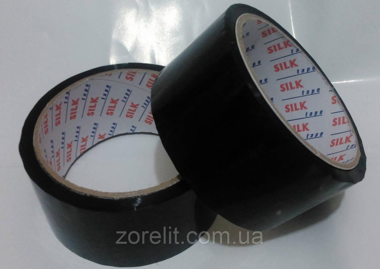 Скотч упаковочный черный 48*50м