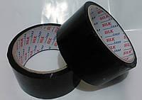 Скотч упаковочный черный 45*50м