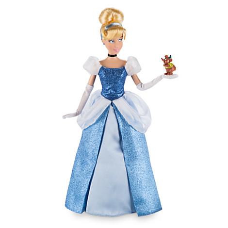 Описание: Cinderella Classic Doll with Gus Figure - 12''
