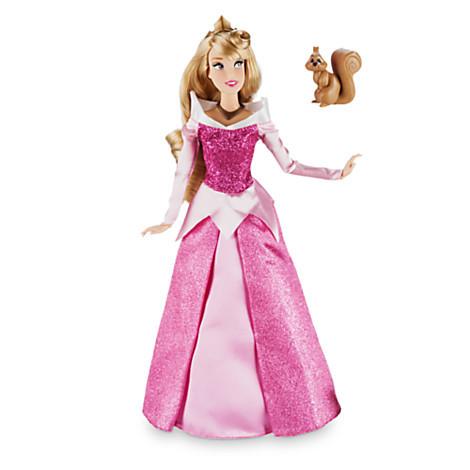 Описание: Aurora Classic Doll with Squirrel Figure - Sleeping Beauty - 12''