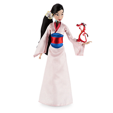 Описание: Mulan Classic Doll with Mushu Figure - 12''